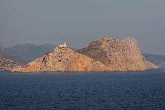 Farol Kos Grécia Fotos de Stock