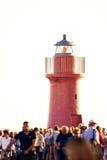 Farol Molo del Nord Foto de Stock