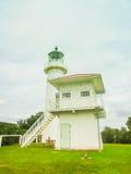 Farol na ilha da ilha de Tiritiri Matangi perto de Auckland, Zeland novo Imagens de Stock