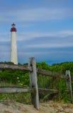Farol NJ de Cape May Foto de Stock