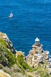 Farol em Cape Town imagens de stock royalty free