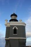 Farol no forte San Felipe del Morro, Porto Rico Imagem de Stock