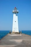 Farol no lago Ontário imagem de stock royalty free