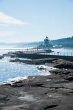 Farol norte da costa do Lago Superior Imagens de Stock Royalty Free
