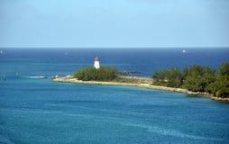 Farol nos Bahamas fotografia de stock royalty free