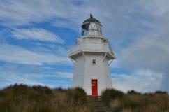 Farol Nova Zelândia do ponto de Waipapa fotos de stock royalty free