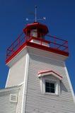 Farol pequeno, Trois-rivières, Canadá. imagens de stock