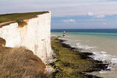 Farol principal Beachy Foto de Stock Royalty Free
