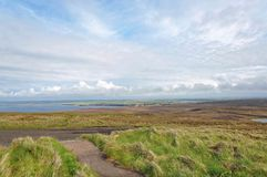 Farol principal de Dunnet, Scotland Fotografia de Stock