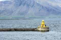 Farol Reykjavik do pescador Fotos de Stock Royalty Free