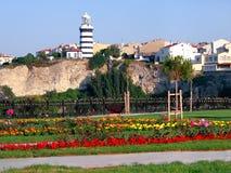 Farol, Sile - Istambul Fotografia de Stock Royalty Free