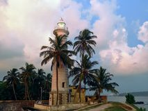 Farol Sri Lanka de Galle Foto de Stock Royalty Free