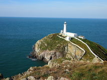 Farol sul da pilha, Anglesey fotos de stock royalty free
