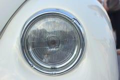 Farol velho do carro Fotografia de Stock