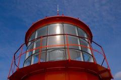 Farol vermelho Fotografia de Stock
