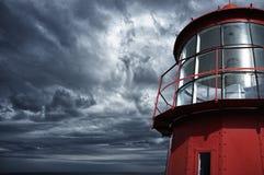 Farol vermelho Imagem de Stock