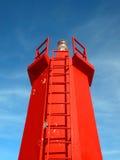 Farol vermelho Foto de Stock Royalty Free