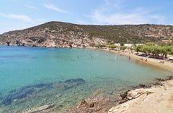 Faros beach Sifnos island Greece royalty free stock images