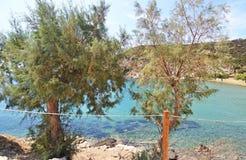 Faros beach Sifnos island Greece stock photos