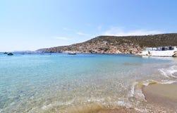 Faros beach Sifnos island Greece royalty free stock image