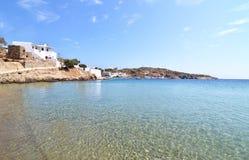 Faros beach Sifnos island Greece stock photo