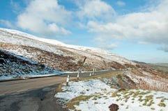 Faros de Brecon en el invierno Imagen de archivo libre de regalías