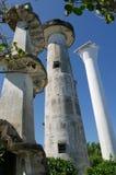 Faros de San Agustin del cabo, Parola, gobernador Generoso, Filipinas Imagenes de archivo