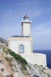 faros kabo Lakonia latarni morskiej maleas Zdjęcia Stock