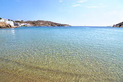 Faros-Strand Sifnos-Insel Griechenland Lizenzfreie Stockfotografie