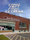 Farr Ice Cream Company Stock Photo