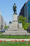 Farragut square in Washington DC Royalty Free Stock Images