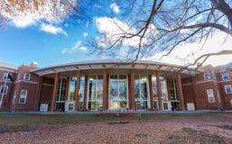 Farrell Hall på WFU Arkivfoton