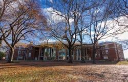 Farrell Hall på WFU Fotografering för Bildbyråer