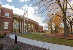 Farrell Hall at WFU Stock Photography