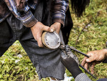 Farrier Royalty Free Stock Image