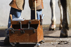 Farrier Royalty Free Stock Images