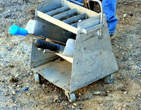 Farrier toolbox. Stock Image