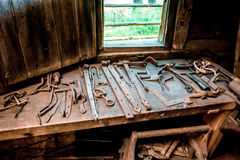 Farrier tools Royalty Free Stock Photo