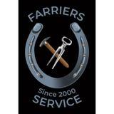 Farriers hulpmiddelen gelijkaardige 2 royalty-vrije illustratie