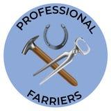 Farriers hulpmiddelen gelijkaardige 2 vector illustratie