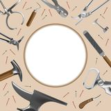 Farriers tools similar 2 royalty free illustration