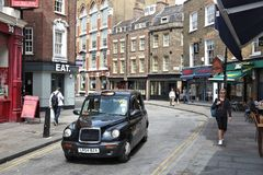 Farringdon London UK Arkivbilder
