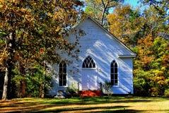 Farrington, NC :1900年奥凯利教堂 库存照片