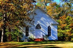 Farrington, NC: 1900 O'Kelly Chapel Stock Photo