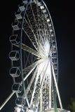 Farris koło przy nocą Fotografia Stock