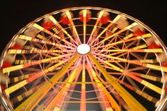 Farris Wheel. This is a picture of a ferris wheel in motion Royalty Free Stock Photos