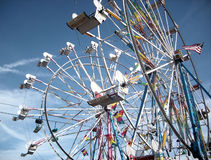 Farris wheels Royalty Free Stock Photography