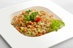 Farro Salad with Vegetables Stock Image