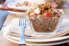 Farro, Tomato and Mozzarella Salad Royalty Free Stock Images