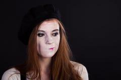 Fars Girl Displeased Fotografering för Bildbyråer